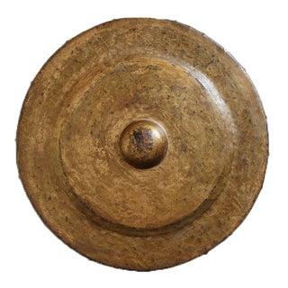 19th Century Bronze Gong