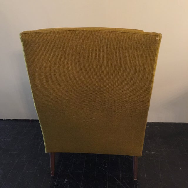 Midcentury Modern High Back Arm Chair - Image 4 of 8