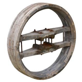 Vintage Rustic Architectural Wheel