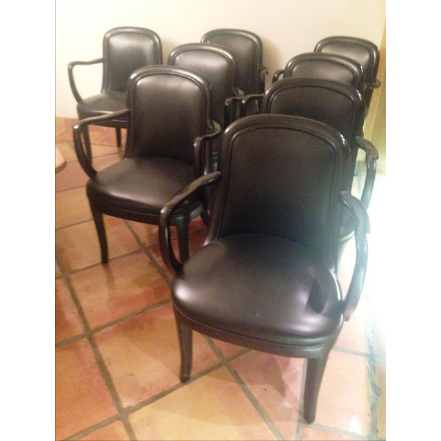 Donghia Dining Chairs - Set of 8 - Image 4 of 8
