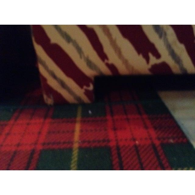 Schumacher Custom Stripe Sofa - Image 3 of 6