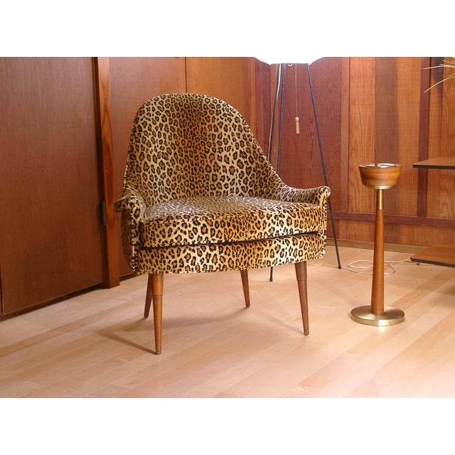 Sculptural Mid Century Danish Modern Chair - Image 9 of 9