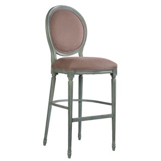 Sarreid LTD Louis XVI Round Back Barstool