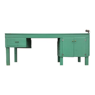 Home Built 1950's Work Bench Console