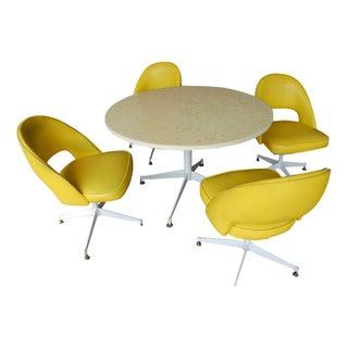 Dimensional Plastics Glamorama Table & 4 Chairs