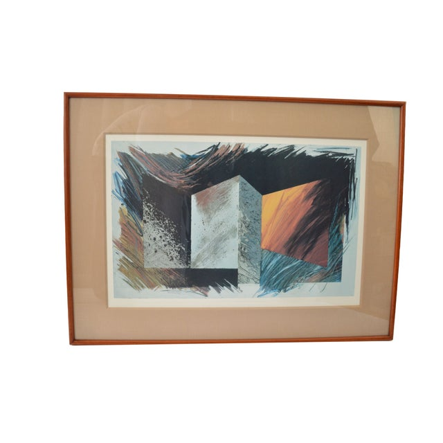 Modern Framed Print Signed by Laddie John Dill - Image 1 of 6