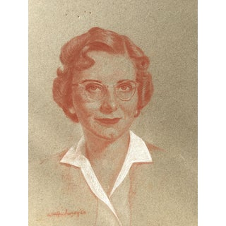 Vintage Portrait of a Woman