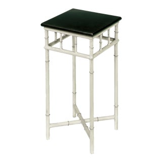 Sarreid LTD Metal & Marble Side Table