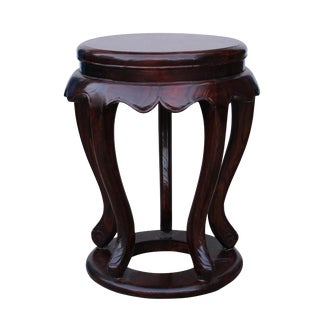 Chinese Traditional Wood Drum Stool