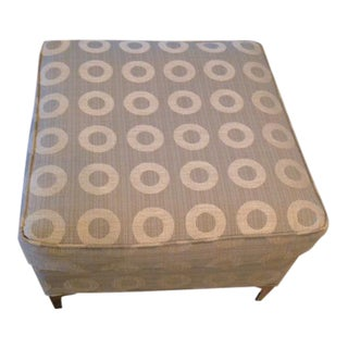 Vintage Reupholstered Ottoman