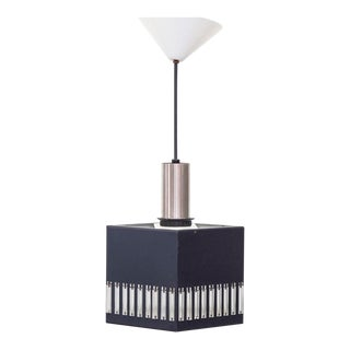 Philips Square Ceiling Pendant With Glass Tubes