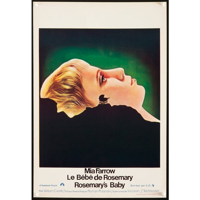 """Image of Vintage Belgian """"Rosemary's Baby"""" Poster"""