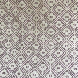 Pintura Studio Lilac Linen Textile Fabric - 2 Yards