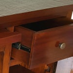 Image of Mahogany Wood Bar Chest