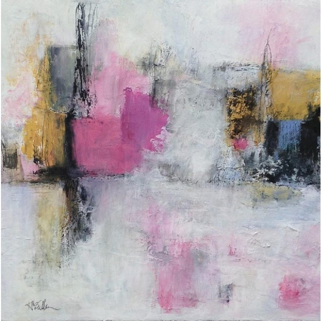 Image of Sailor's Valentine Abstract Painting
