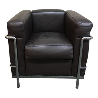 Le Corbusier Lc2 Poltran Armchair