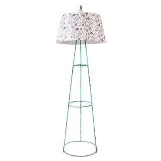 Floor Tripod Lamp with Liberty of London Shade