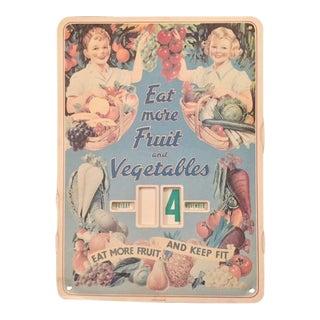 Vintage 1950s Cavallini & Co. Perpetual Calendar