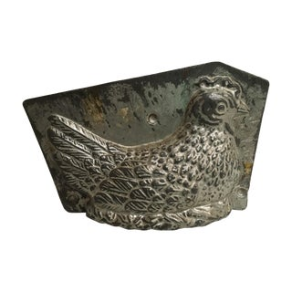 Antique Early 1900s Nesting Chicken Chocolate Mold