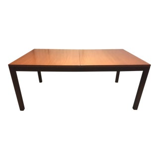 """Directional"" Wood Dining Room Table"