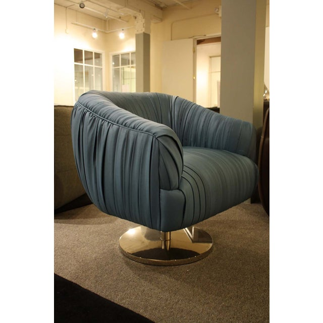 Nathan Anthony Blossom Swivel Chair - Image 3 of 4