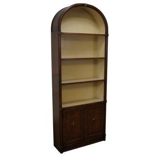 Vintage Henredon Regency Dome Top Bookcase