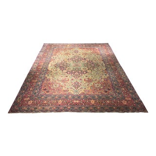 Antique Persian Kerman Rug - 10' x 13'