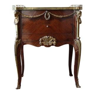 Louis XV à Ecrire With Bronze Hardware Table