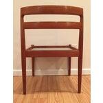 Image of Danish Teak Kristiansen Magnus Olesen Chairs - 8