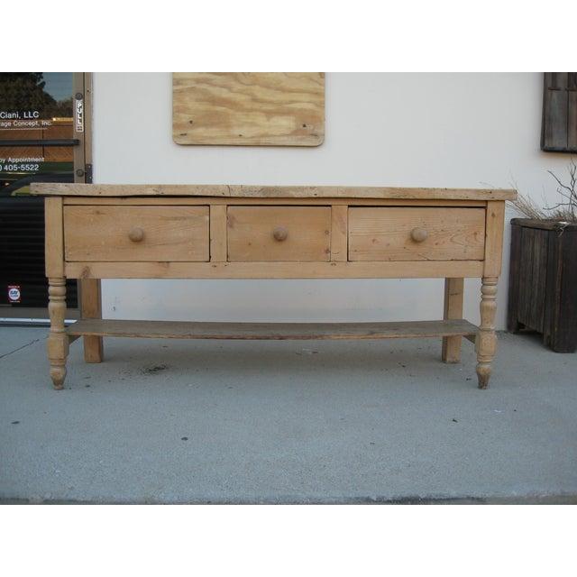 European 3-Drawer Sideboard - Image 3 of 11