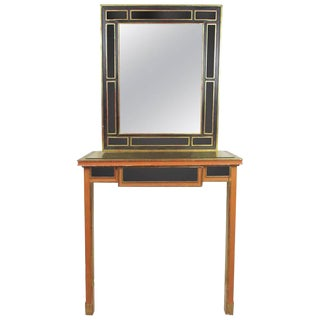 Mirrored French Vanity by Pierrefeu