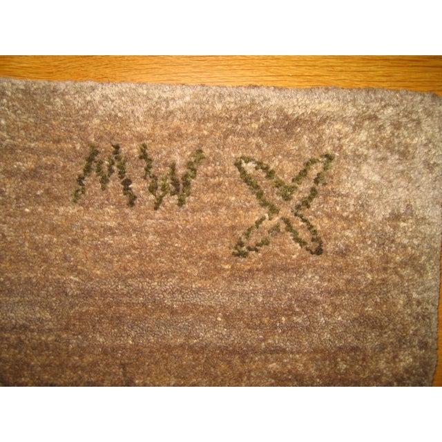 Madeline Weinrib Putty Lark Tibetan Wool Rug - 7′10″ × 10′1″ - Image 7 of 9