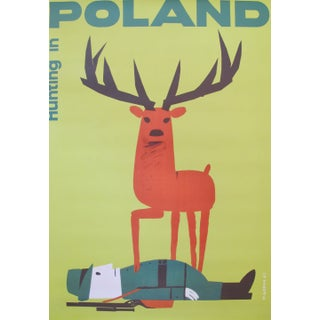 Whimsical Polish Hunting Poster