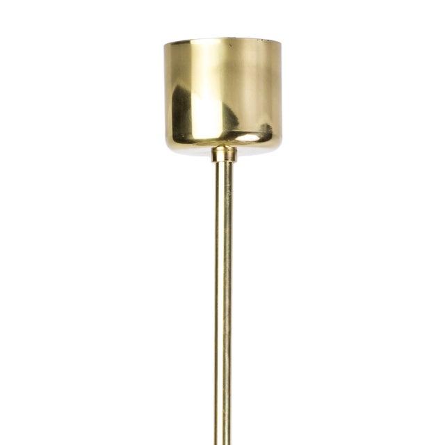 Doria Mid-Century Glass Pendant - Image 4 of 4