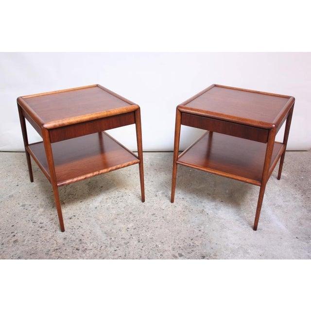 Pair of T. H. Robsjohn-Gibbings Single Drawer End Tables - Image 3 of 10