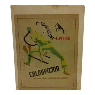 Vintage WWI Safety Poster