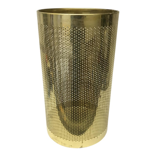 Perforated Brass Bin - Image 1 of 5