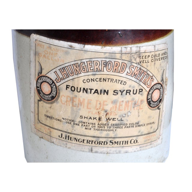Vintage Fountain Syrup Jug Set - Image 3 of 3