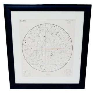 1880's Large Star Map 4