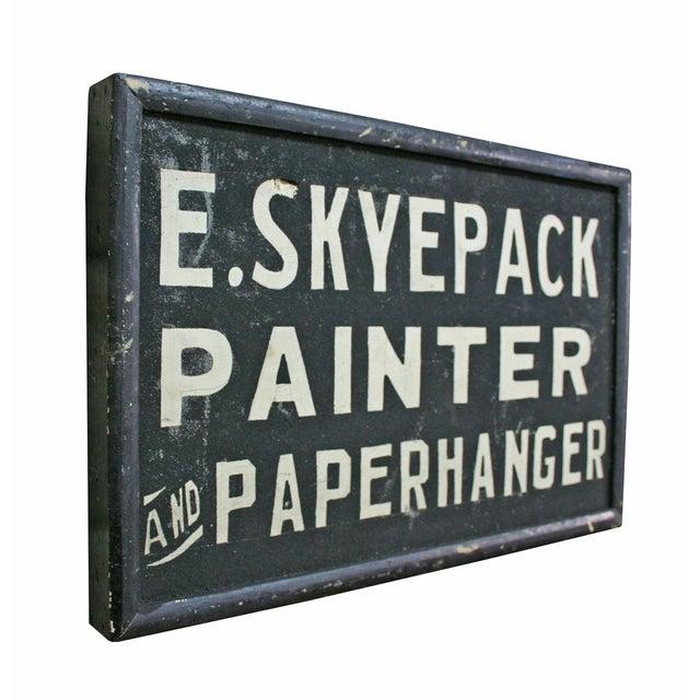 E. Skyepack Painter & Paperhanger Sign - Image 2 of 3