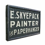 Image of E. Skyepack Painter & Paperhanger Sign
