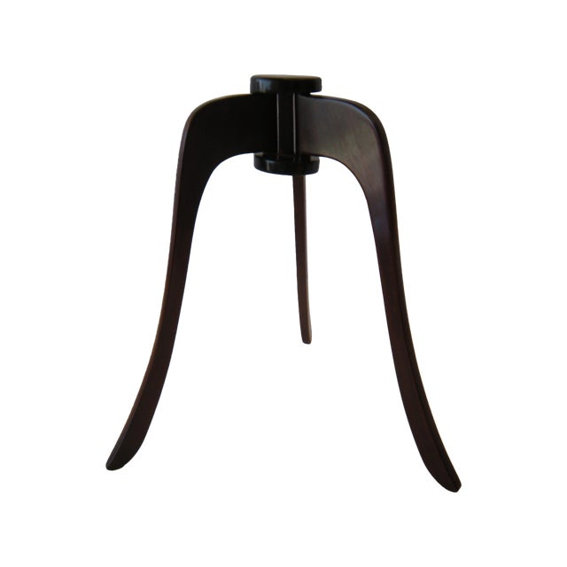 Antique Asian Wooden Hat Stand - Image 1 of 4
