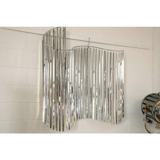 Curtis Jere Silver Kinetic Wall Hanging - Image 3 of 8