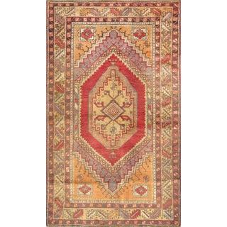 """Vintage Sivas Wool Rug- 3'8"""" X 6'1"""""""