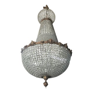 Jumbo Empire Crystal Chandelier