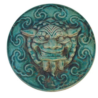 Salvaged Gargoyle Wall Plaque