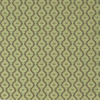 Sanderson Sage Green Art Deco Orlando Velvet - 9.125 Yards