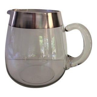 Dorothy Thorpe Silver Banded Pitcher