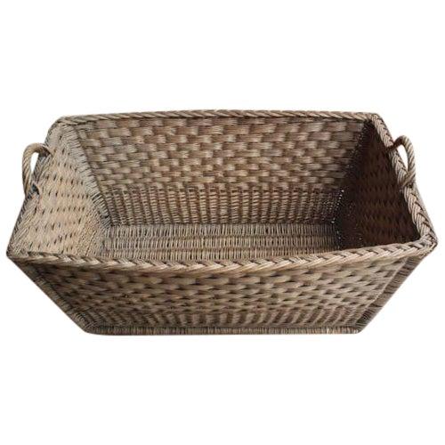 Vintage French Laundry Day Basket - Image 1 of 7