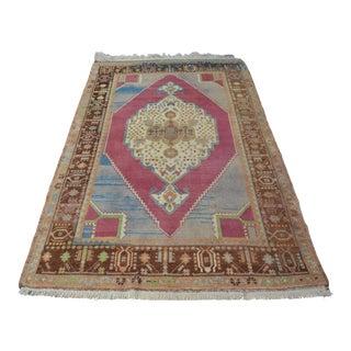 """Turkish Anatolian Area Carpet - 55"""" x 90"""""""
